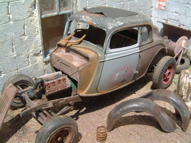 34 Ford AMT kit Blog, Ford ⋆ 125scale