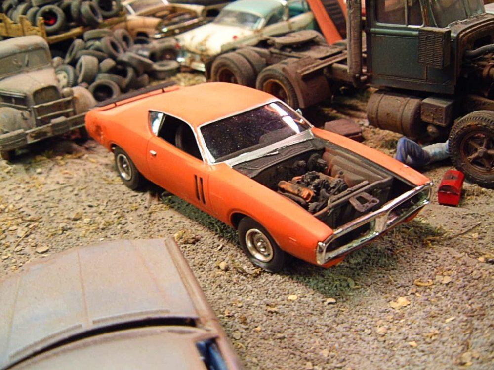 Used Dodge Dart >> 1971 Charger AMT Blog, Mopar ⋆ 125scale